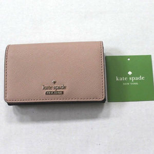 kate spade Cameron St Leather Card Case Wallet